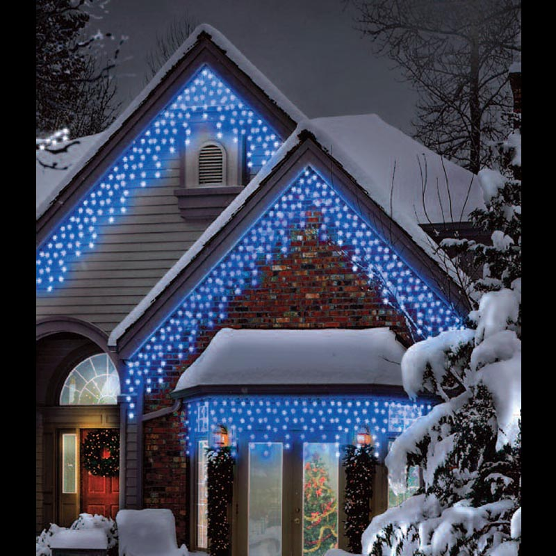 120 Blue Led Multi Function Icicle Lights Trans Continental Group Ltd
