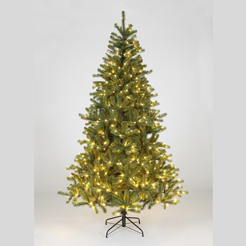 Pe Christmas Trees Uk: 150cm Douglas Fir PE Tree W/530 Tips/97cm Dia/200 LED